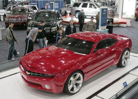 Chevy Camaro Auto Show 2