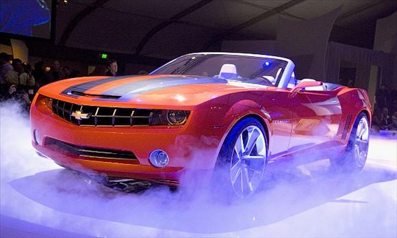 Chevy Camaro Auto Show 1