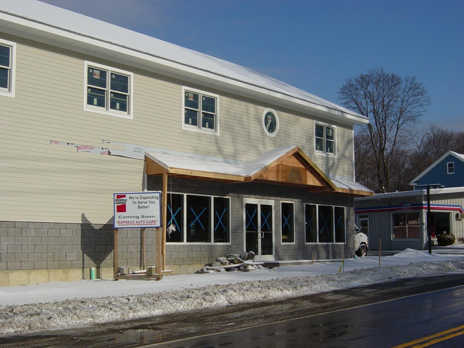 Osceola Shop Expansion 14