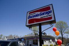 Osceola Garage Sign