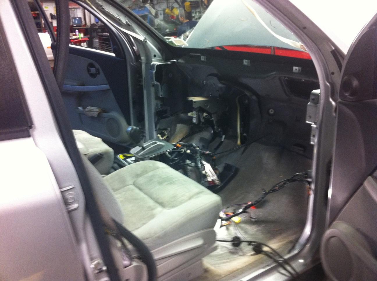 2006 Chevrolet Equinox Blend Door Repair