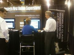 Bob Cooper, Elite World Wide at NACE/CARS Convention Las Vegas 2010
