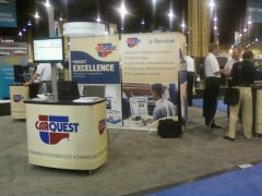 CARQUEST Booth at the NACE/CARS Convention 2010