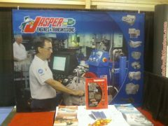 Jasper Booth at the NACE/CARS Convention, Las Vegas 2010