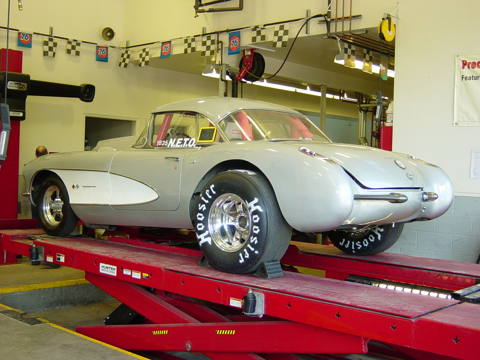 57 Corvette Race Car 001