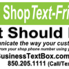 Is Your Shop Text-Friendly?