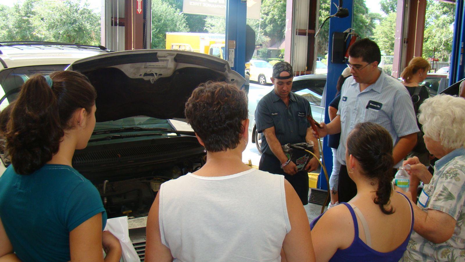 Women's Car Care Clinic6