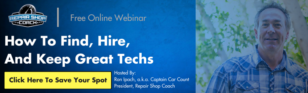 Repair Shop Coach Webinar