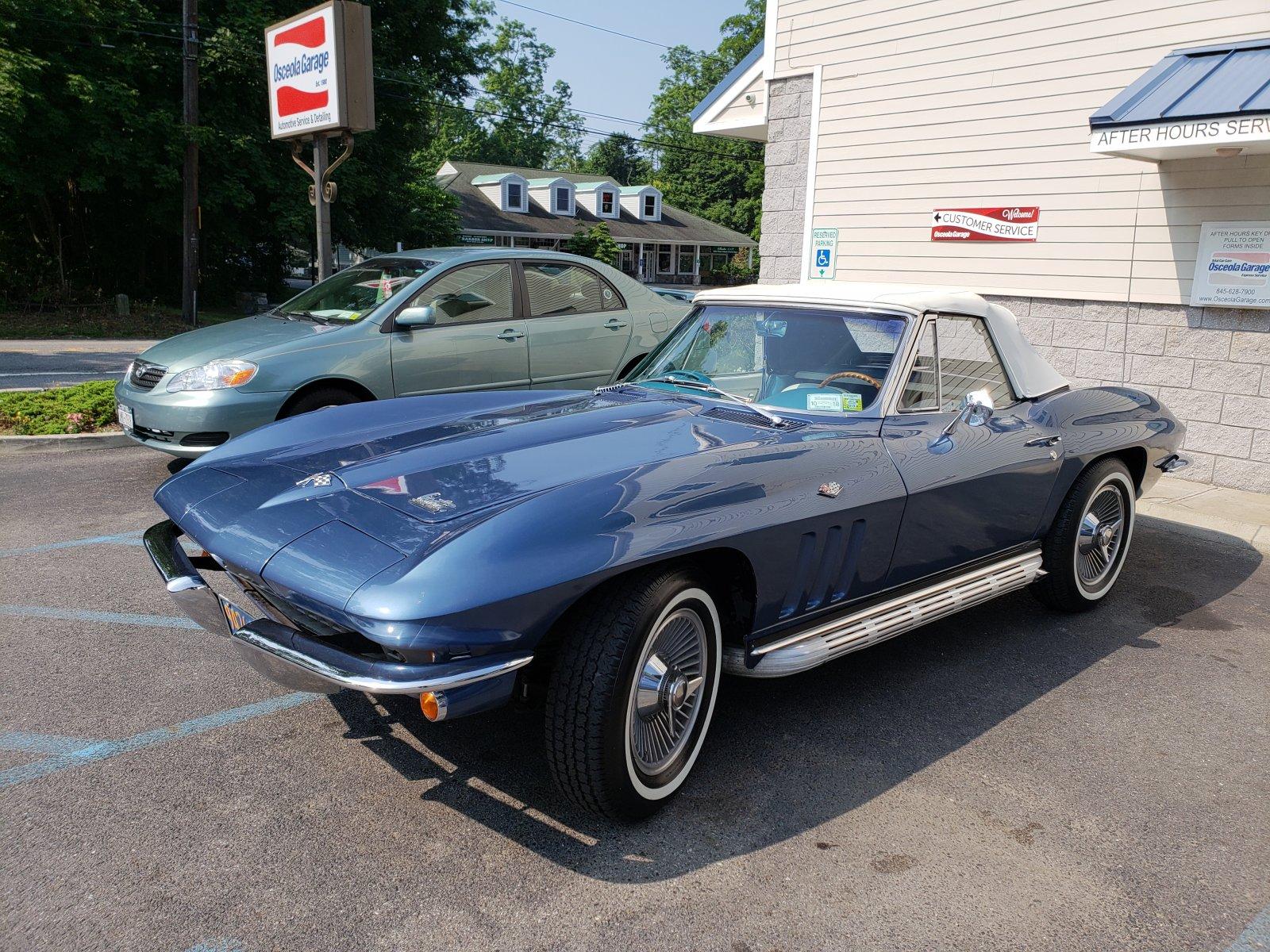 1966 Corvette - True muscle car - 350 w/standard Trans