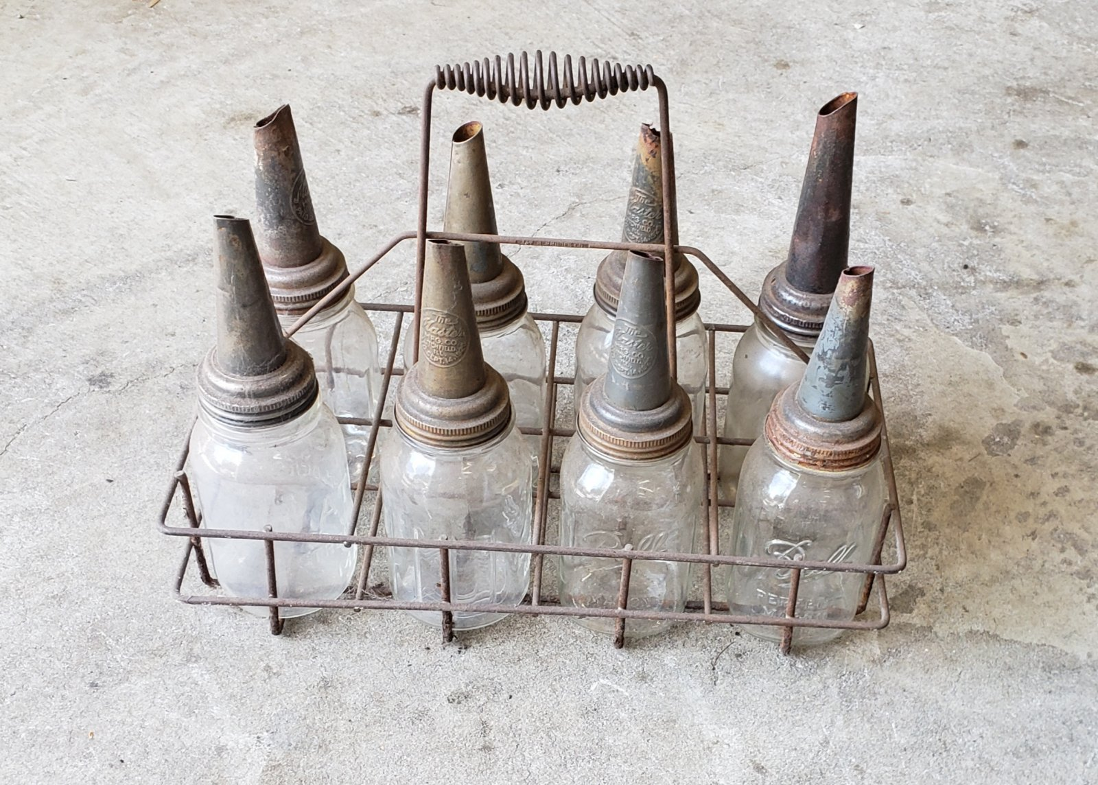 Oil Bottles from old gas station.jpg
