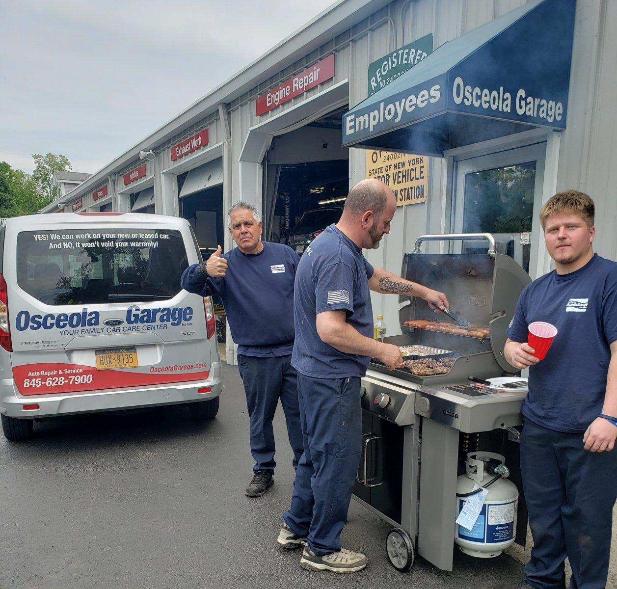 Friday BBQ at Osceola Garage, Joe Marconi